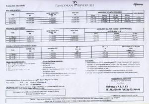 Daftar Harga apartemen bersubsidi Pancoran Riverside